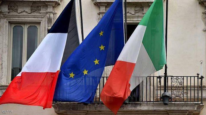 """إيطاليا تستدعي السفير الفرنسي بعد """"كلمات ماكرون"""""""