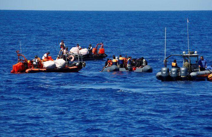 إنقاذ 41 مهاجراً قبالة السواحل الليبية