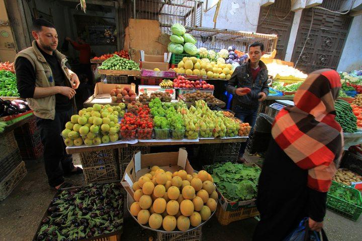 الإحصاء: انخفاض مؤشر غلاء المعيشة خلال شهر أيار