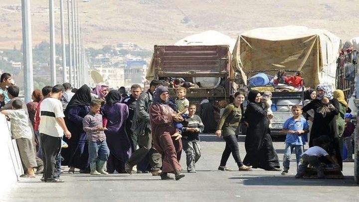 أكثر من 11 ألف سوري في لبنان نسقوا للعودة إلى سوريا
