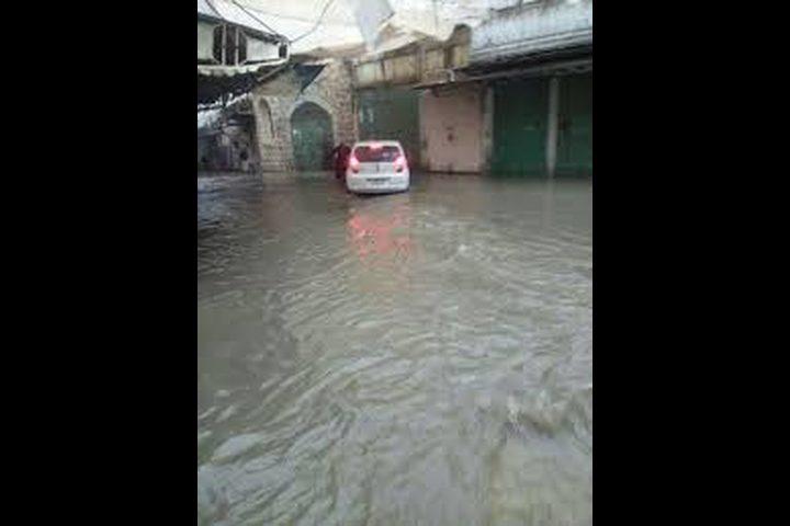 الفيضانات تغرق سديروت وعسقلان (فيديو)