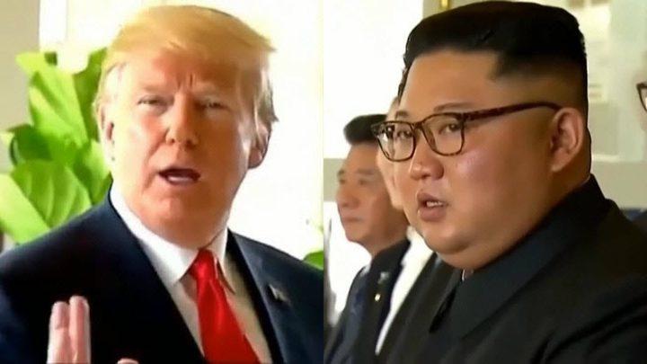 """عبارة ترامب ترسم """"صدمة صامتة"""" على وجه كيم"""