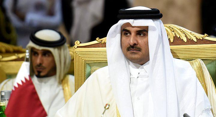 الرئيس يتلقى التهنئة العيد من مفتي القدس وأمير قطر