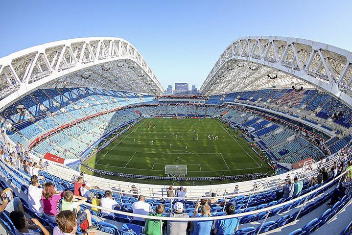 """""""الملعب المخيف"""" يستضيف مباراة مصر الأولى في المونديال"""