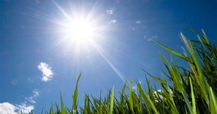 حالة الطقس: الحرارة أعلى من معدلها السنوي العام حتى الإثنين