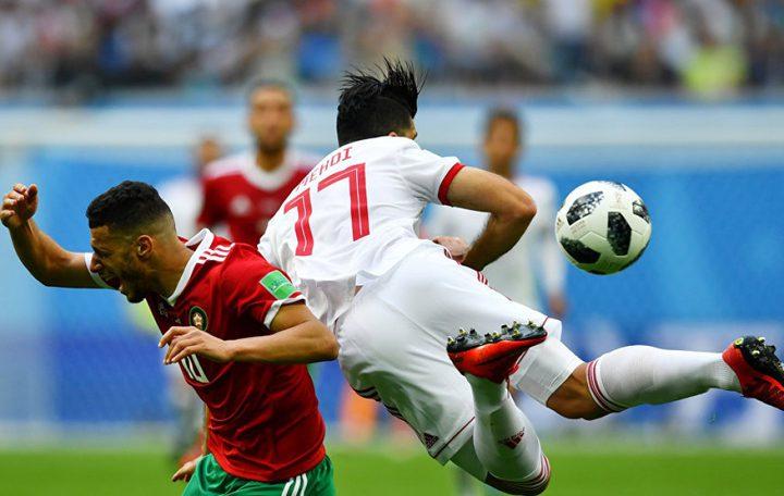 المنتخب الايراني يتغلب على نظيره المغربي بهدف لصفر