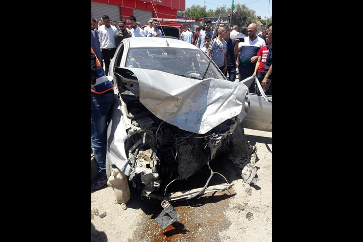 11 إصابة في حادث سير شمال البيرة