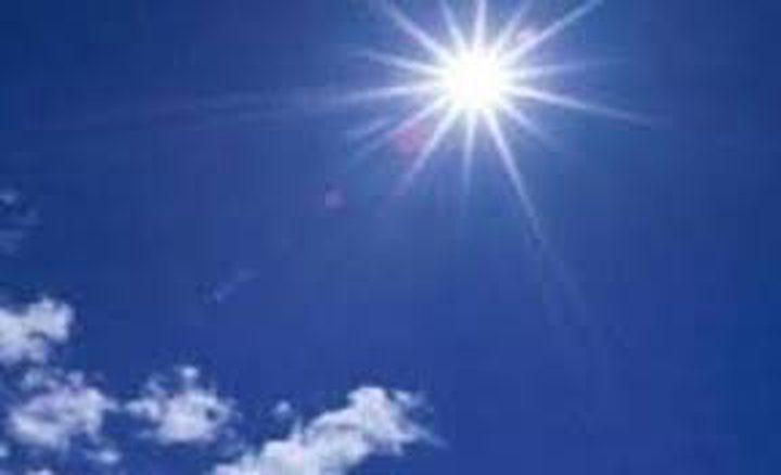 حالة الطقس: حار نسبي الى حار