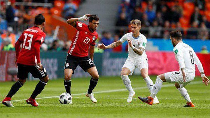 مونديال روسيا.. مصر تخسر امام الاوروغواي