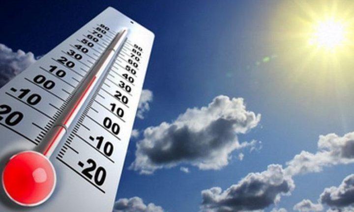 الطقس: أجواء حارة وجافة والحرارة اعلى من معدلها 8 درجات