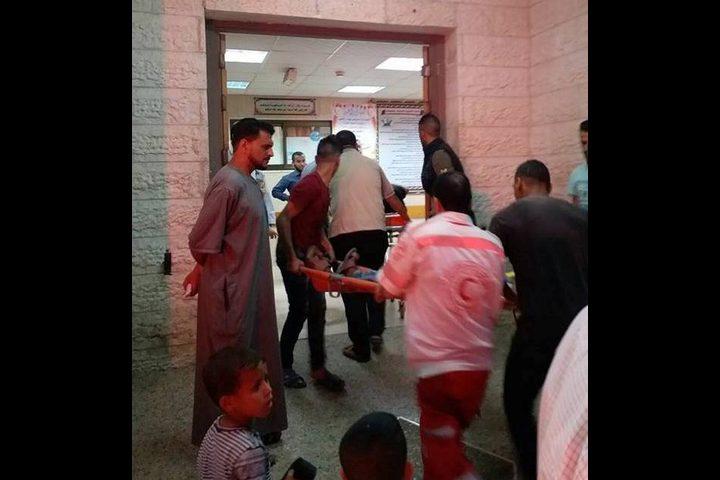 إصابة مواطنين في قصف إسرائيلي لمجموعة من مطلقي الطائرات الورقية شرق البريج