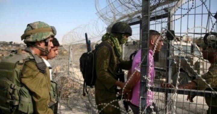 الاحتلال يعتقل شاباً من غزة بزعم محاولته التسلل تجاه أراضي الخط الأخضر