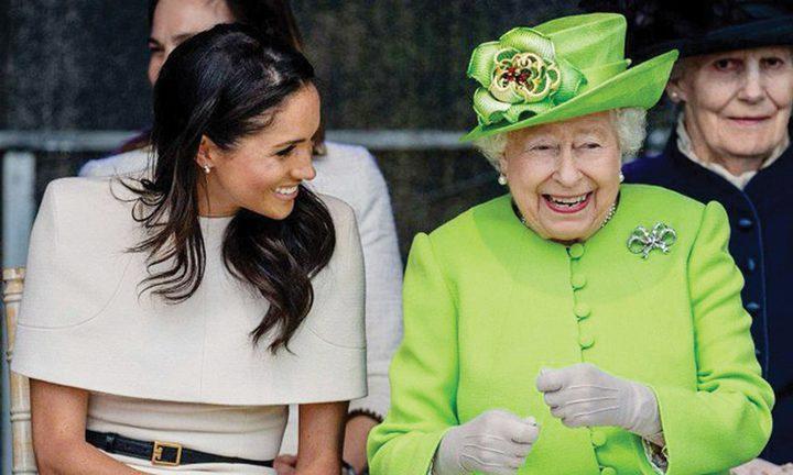 ما اللقب الذي تستخدمه ميغان عند مناداة ملكة بريطانيا؟