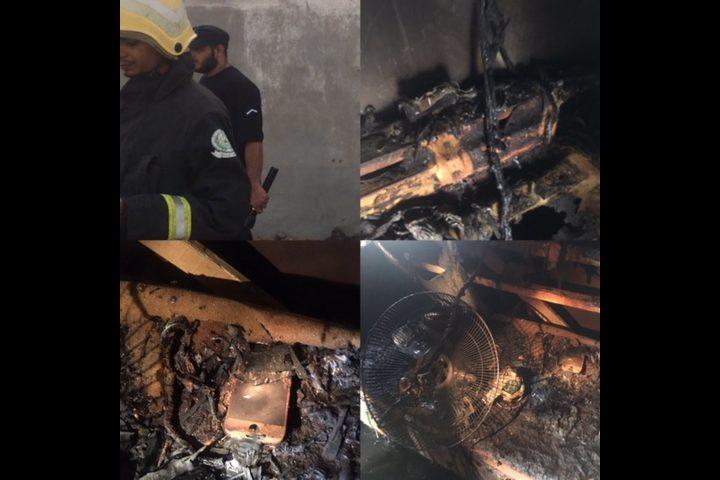 مصرع عائلة سعودية حرقاً قرب مكة المكرمة