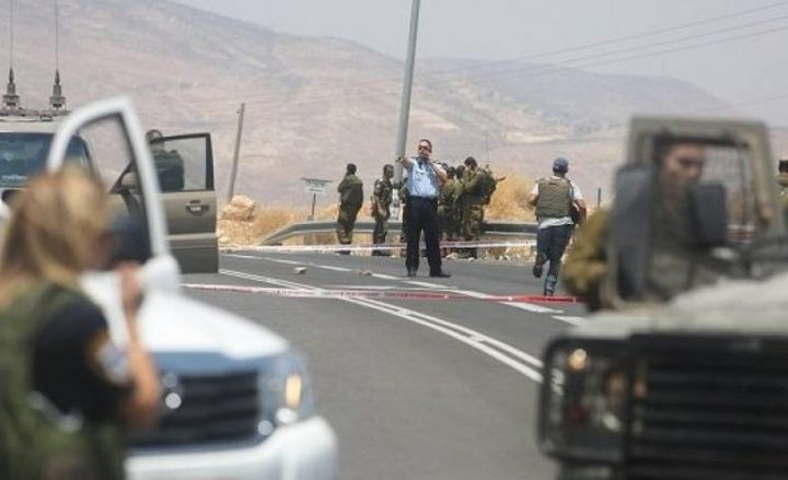 الاحتلال يزعم: اطلاق نار على سيارة مستوطن قرب نابلس