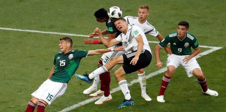 """مونديال 2018: ألمانيا """"السيئة"""" تمنى بخسارة تاريخية أمام المكسيك"""