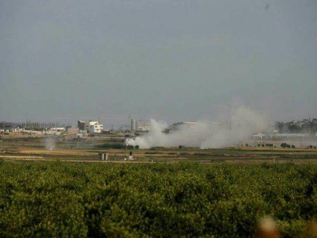 الاحتلال يستهدف ثلاثة مواقع في قطاع غزة