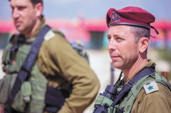 سرقة وثائق سرية من سيارة قائد كبير بالجيش الاسرائيلي