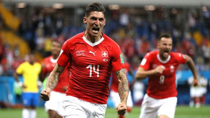 مونديال 2018: سويسرا تجبر البرازيل على التعادل 1-1