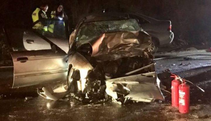 مصرع مواطنين اثنين واصابة 5 اخرين بحادث سير