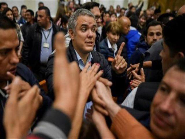فوز اليميني المتشدد إيفان دوكي بالانتخابات الرئاسية في كولومبيا