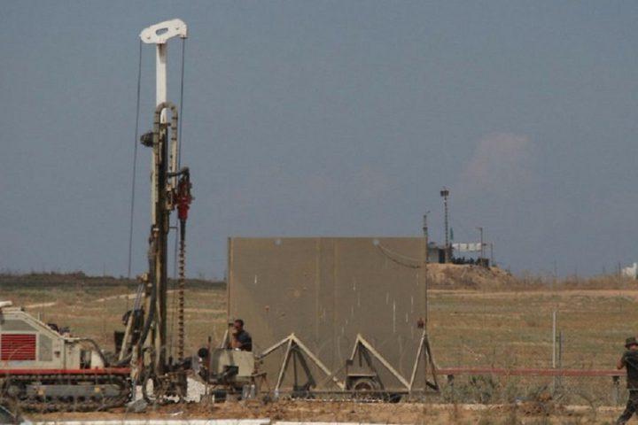 """الاحتلال يسرّع أعمال بناء """"السور العظيم"""" بمشاركة شركات أجنبية"""