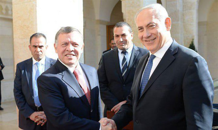 نتنياهو يلتقي الملك عبد الله في عمان