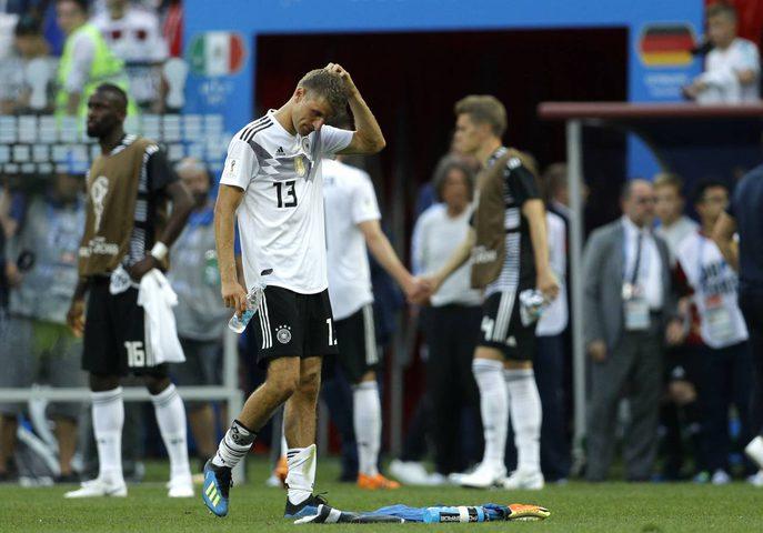 ألمانيا... صدمة حامل اللقب (صور)