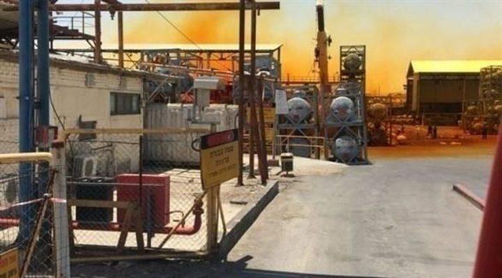 السيطرة على تسريب كيميائي في البحر الميت