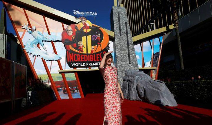 """""""إنكريدبلز 2"""" يتصدر إيرادات السينما الأميركية"""