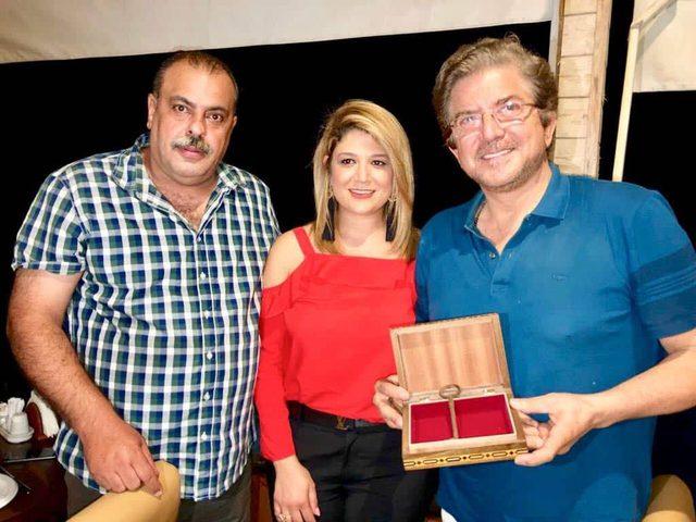 """فلسطين تُكرّم الفنان وليد توفيق بعد اطلاقه أغنية """"عهد""""للأسيرةعهد التميمي"""