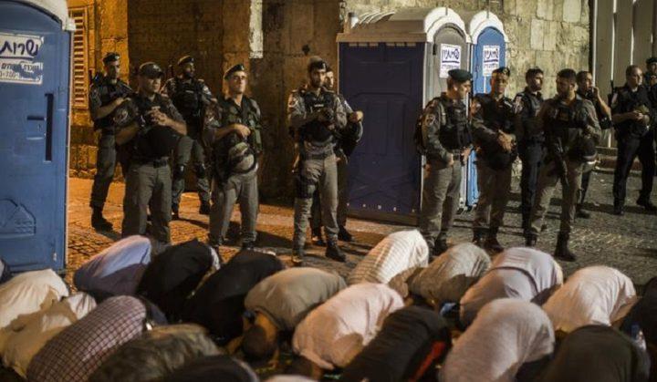 المفتي العام يدعو إلى التحرك العاجل لإنقاذ المسجد الأقصى