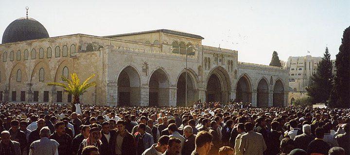 سلهب: الأقصى مسجد اسلامي وليس لليهود حق فيه