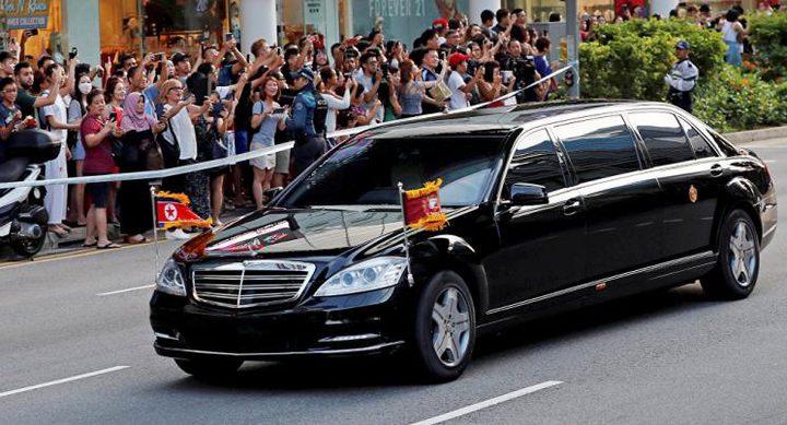 زعيم كوريا الشمالية يصل إلى بكين