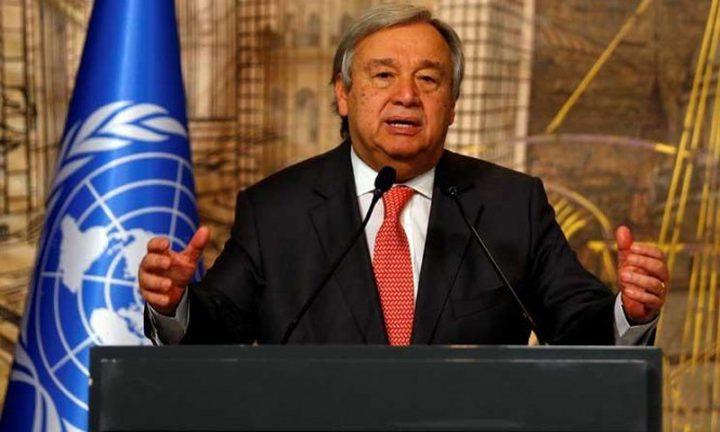 الامم المتحدة تحذر من اندلاع حرب في غزة