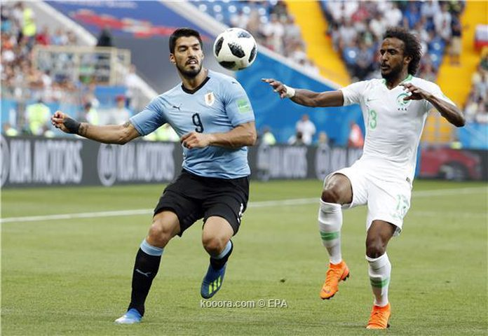 سواريز يطيح بالسعودية ومصر خارج كأس العالم