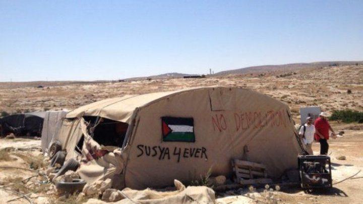 الاحتلال يؤجل هدم سوسيا والخان الأحمر إلى ما بعد زيارة كوشنير