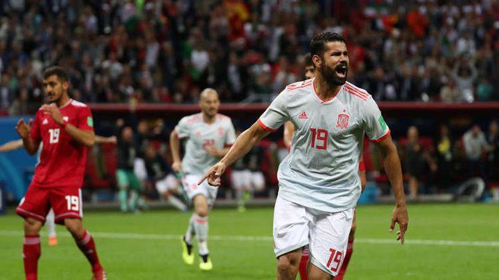 اسبانيا تفوز على ايران بهدف بلا مقابل