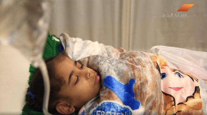 بالفيديو.. معاناة الطفلة ريفال من قطاع غزة في العلاج