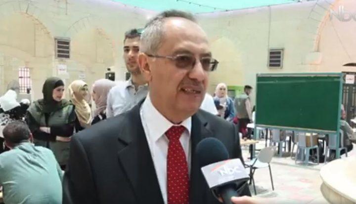 الدكتور ماهر النتشة: اجراءات مريحة وميسرة للتسجيل في جامعة النجاح (فيديو)