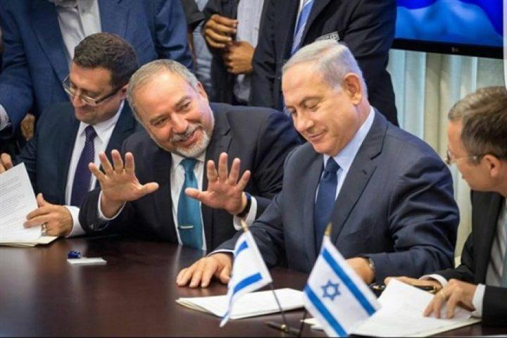 نتنياهو وليبرمان وايزنكوت يتوعدون بتصعيد الرد على غزة