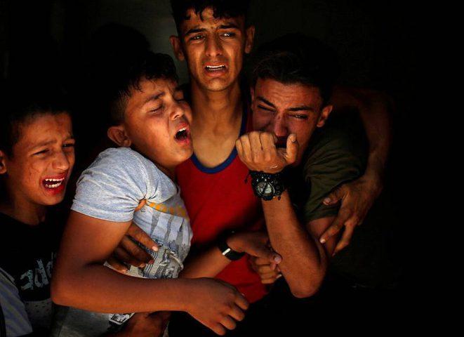 بالفيديو.. شهيدان متأثران بجراحهما في غزة