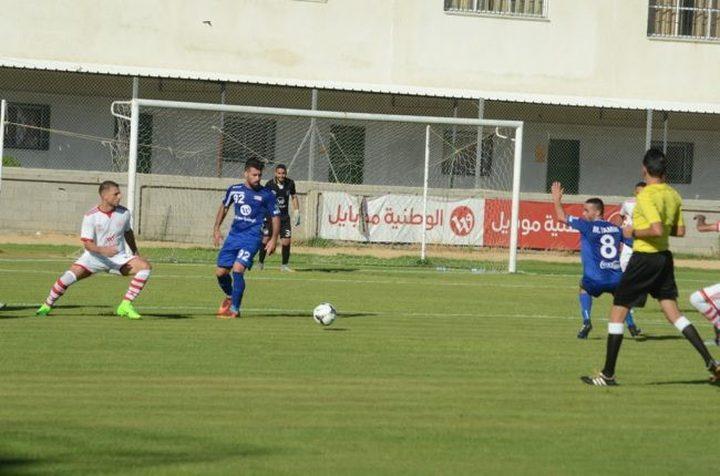 فوز مثير لشباب خانيونس على هلال القدس بثلاثة أهداف مقابل هدفين