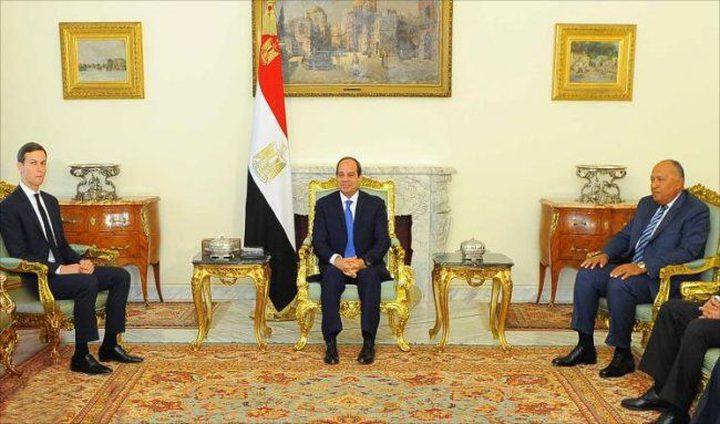 زيارة تستمر لساعات.. كوشنر وغرينبلات في القاهرة