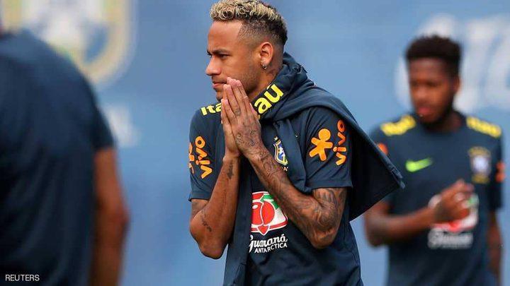 نيمار يعود لتدريبات منتخب البرازيل بعد الإصابة