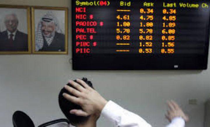 البورصة: انخفاض مؤشر القدس بنسبة 0.15%