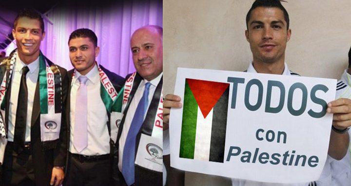 أردوغان: أحب رونالدو بسبب مواقفه من القضية الفلسطينية