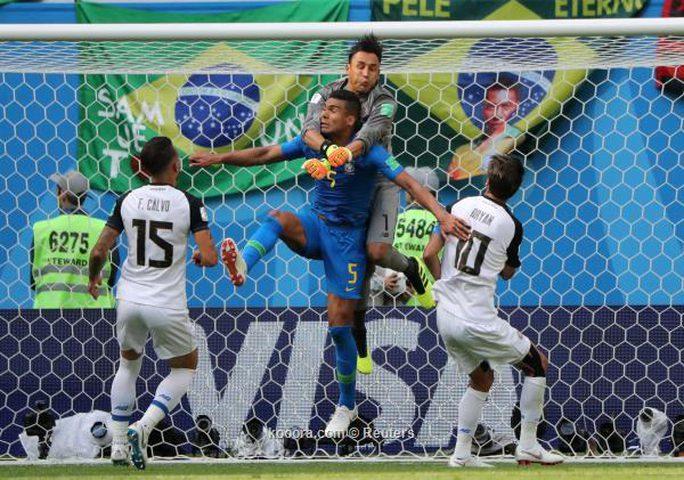 البرازيل تلقي بكوستاريكا خارج المونديل بهدفين نظيفين