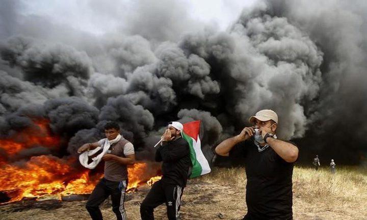 صحة غزة: 131 شهيداً و15 ألف جريح برصاص قوات الاحتلال في مسيرات العودة