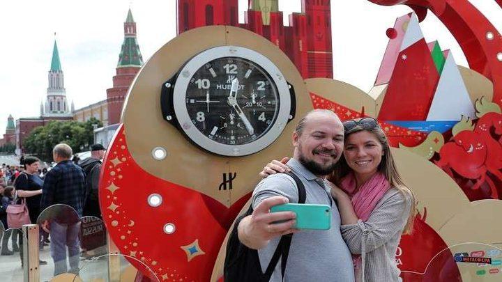 فحوصات لكشف إدمان السيلفي في موسكو